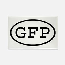 GFP Oval Rectangle Magnet