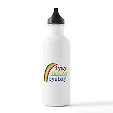 I Like Boys Water Bottle