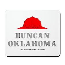 Duncan Oklahoma Mousepad