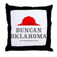 Duncan Oklahoma Throw Pillow