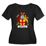 Mortimer Family Crest Women's Plus Size Scoop Neck