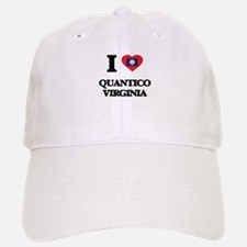 I love Quantico Virginia Baseball Baseball Cap