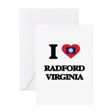 I love Radford Virginia Greeting Cards
