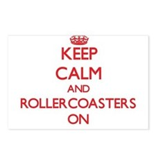 Keep Calm and Rollercoast Postcards (Package of 8)
