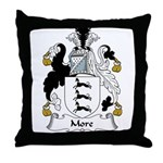 More Family Crest Throw Pillow