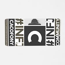 Cacofony Community Aluminum License Plate