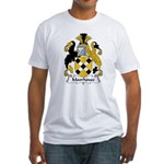 Moorhouse Family Crest  Fitted T-Shirt