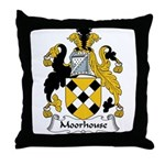 Moorhouse Family Crest Throw Pillow