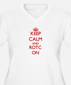 Keep Calm and Rotc ON Plus Size T-Shirt