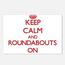 Keep Calm and Roundabouts Postcards (Package of 8)