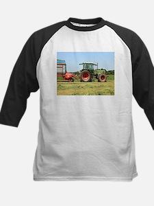 Tractor at work on El Camino, Spai Baseball Jersey