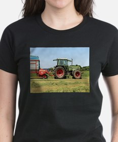 Tractor at work on El Camino, Spain 2 T-Shirt