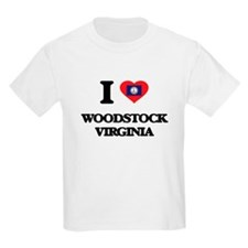 I love Woodstock Virginia T-Shirt