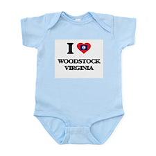 I love Woodstock Virginia Body Suit