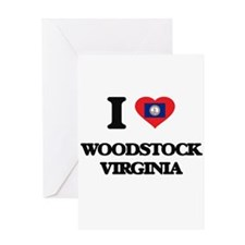 I love Woodstock Virginia Greeting Cards