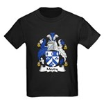 Moody Family Crest Kids Dark T-Shirt