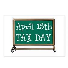 April 15 Tax Day Postcards (Package of 8)