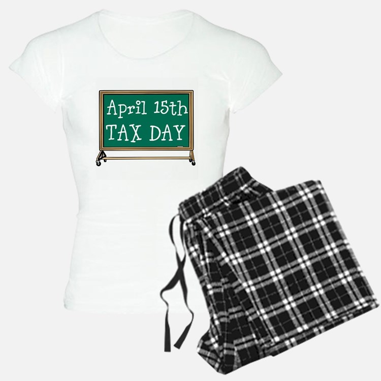 April 15 Tax Day Pajamas