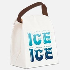 Ice Ice Maternity Design Canvas Lunch Bag