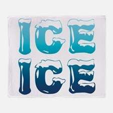Ice Ice Maternity Design Throw Blanket
