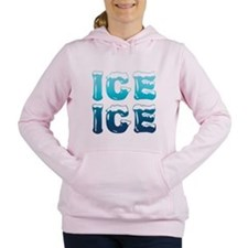 Ice Ice Maternity Design Women's Hooded Sweatshirt