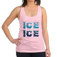 Ice Ice Maternity Design Racerback Tank Top