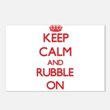 Keep Calm and Rubble ON Postcards (Package of 8)