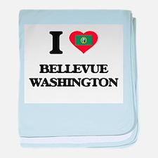 I love Bellevue Washington baby blanket