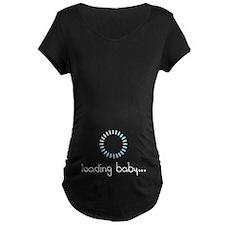 Baby Loading Maternity Design Maternity T-Shirt