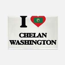 I love Chelan Washington Magnets