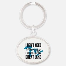 Just need a Great Lake Oval Keychain