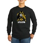 Monckton Family Crest Long Sleeve Dark T-Shirt