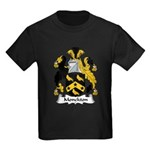 Monckton Family Crest Kids Dark T-Shirt