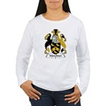 Monckton Family Crest Women's Long Sleeve T-Shirt