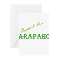 Arapaho Greeting Card