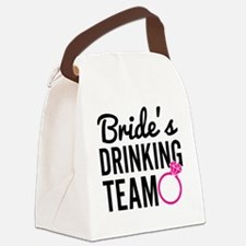 Bride's Drinking Team Canvas Lunch Bag