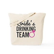 Bride's Drinking Team Tote Bag