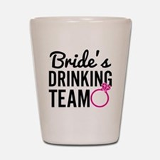 Bride's Drinking Team Shot Glass