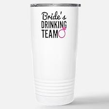 Bride's Drinking Team Travel Mug