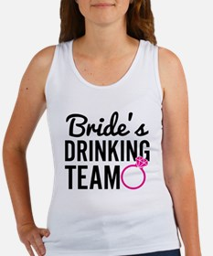 Bride's Drinking Team Tank Top