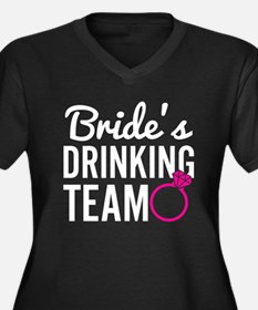 Bride's Drinking Team Plus Size T-Shirt