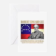 Robert E Lee Greeting Cards