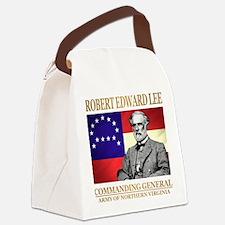 Robert E Lee Canvas Lunch Bag