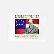 Robert E Lee 5'x7'Area Rug