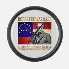 Robert E Lee Large Wall Clock
