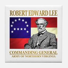Robert E Lee Tile Coaster
