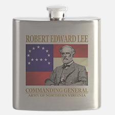 Robert E Lee Flask