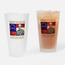 Robert E Lee Drinking Glass
