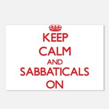 Keep Calm and Sabbaticals Postcards (Package of 8)
