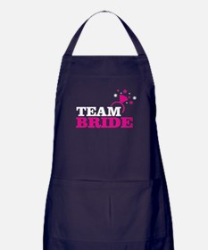 Team Bride Apron (dark)